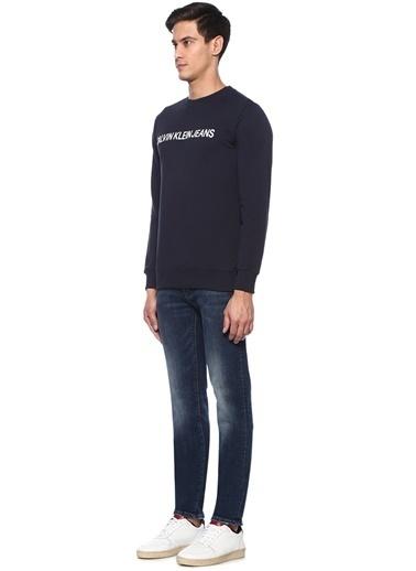 Ck Jeans Sweatshirt Lacivert
